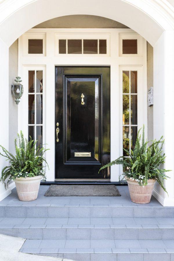 Exterior Door High Sheen Blk Image 6