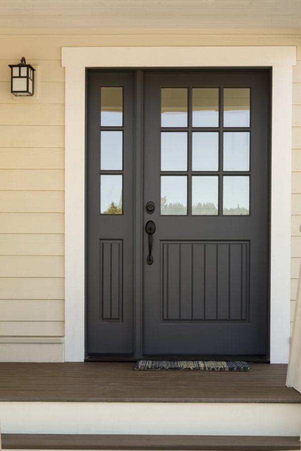 Exterior Door Matte Black Image 7